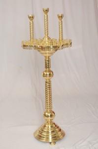Подсвечник 48 свечей 3 ламады